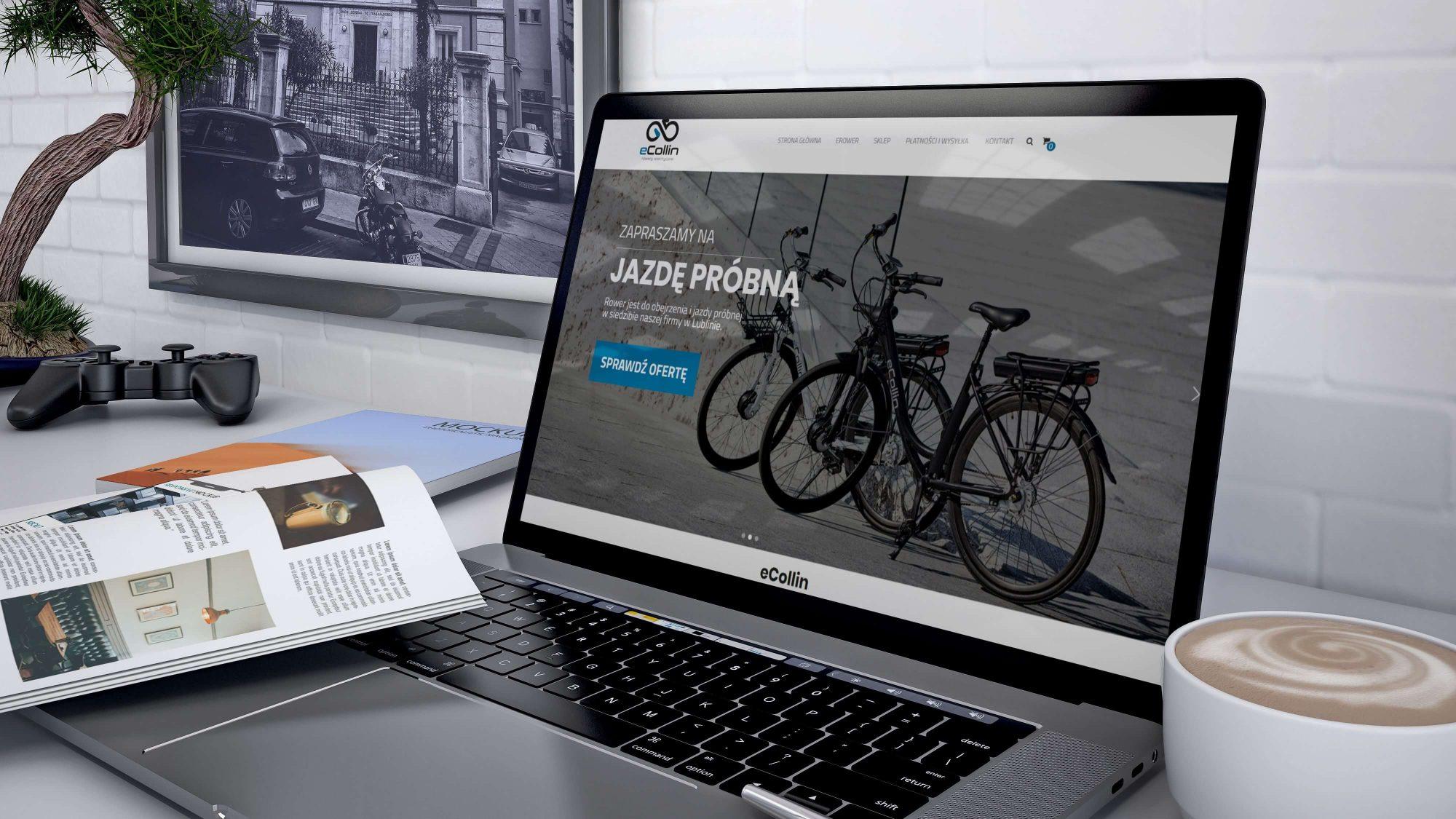 Projekt graficzny sklepu internetowego